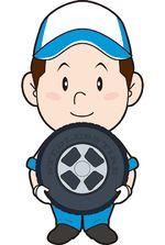 タイヤ交換イメージ図